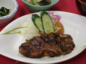 9月27日豚肉の味噌焼き.JPG