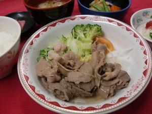 9月4日牛肉冷しゃぶ.JPG