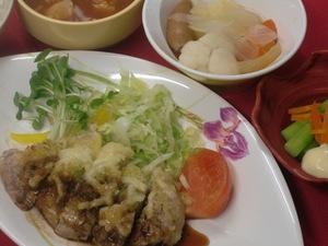 6月30日豚香草パン粉チーズ焼き.JPG