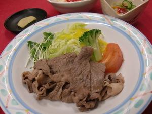 7月20日牛肉冷しゃぶ.JPG