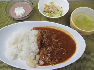 4月12日ハヤシライス.JPG
