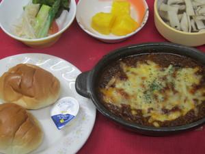 4月28日茄子と豆腐ミートグラタン.JPG