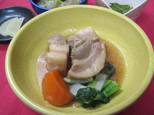4月28日豚肉のはちみつ煮.JPG