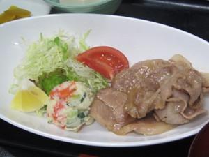 5月20日豚の生姜焼き.JPG
