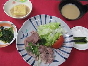 5月26日 牛肉の冷しゃぶ.JPG