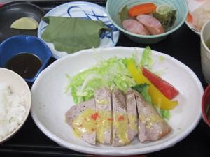 5月5日豚肉のオレンジソース焼き.JPG