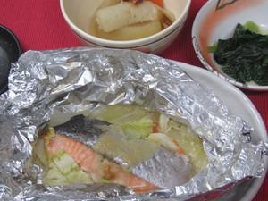 5月9日鮭のチャンチャン焼き.JPG