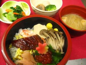 鰻の吹き寄せばら寿司.JPG