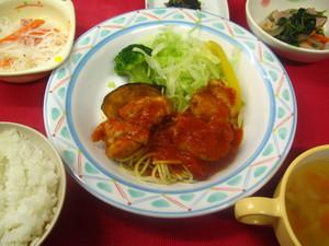 9月8日若鶏のトマトソース煮.JPG