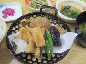 9月14日カレイから揚げ.JPG