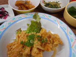 2月27日鶏肉のネギソース.JPG