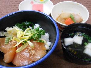 2月5日びんちょう鮪と長芋の彩り寿司.JPG