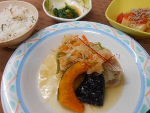 5月26日豚肉の南蛮漬け.JPG