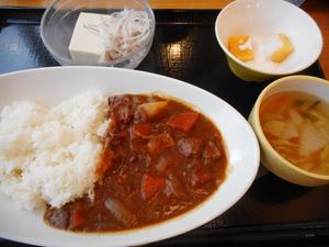 10月17日 ビーフカレーライス.JPG