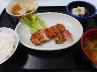 12月11日 美味鶏の柚子胡椒焼き.JPG