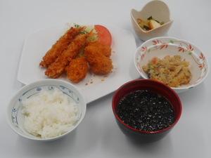 12月20日 エビフライとカキフライ.JPG