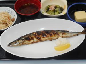 12月9日 秋刀魚の一本焼き.JPG
