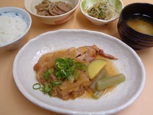 4月22日 美味鶏のみぞれ生姜焼き.JPG
