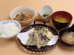 7月日 鱧の大葉包みと夏野菜の天ぷら.JPG