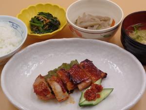 7月15日 鶏の柚子胡椒焼き.JPG