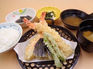 7月17日 大海老と野菜の天ぷら.JPG