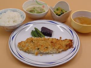 7月19日 舌平目の香味パン粉焼き.JPG