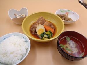 7月3日 豚ばら肉の角煮.JPG