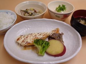 7月6日 鱈の照りマヨ焼き.JPG
