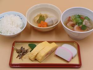 1月1日 雑炊(清汁).JPG