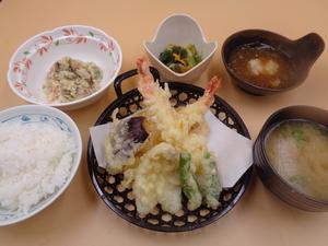 9月30日海老とキスの天ぷら.JPG