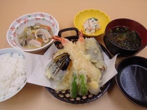 1月23日海老と鰺の天ぷら盛り合わせ.JPG